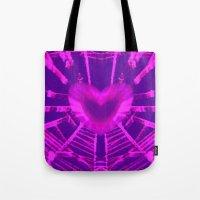 WEB OF LOVE Tote Bag