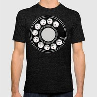 Rotary Me Mens Fitted Tee Tri-Black SMALL