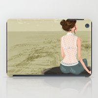 Girl By The Sea iPad Case