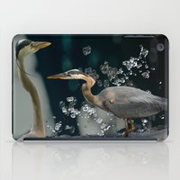 Great Blue Herons iPad Case