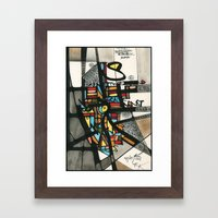 2011 - The Answers Are Already There Framed Art Print