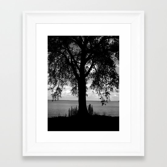 Where I Stand Framed Art Print