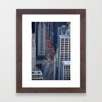 Magnificent Mile Framed Art Print