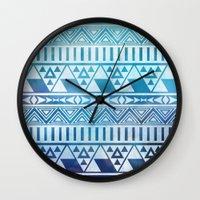 Tribal Vision. Wall Clock