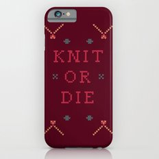 Knit or Die Slim Case iPhone 6s