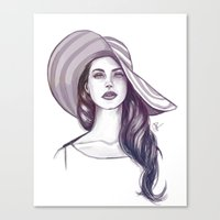 Shades of Cool Canvas Print