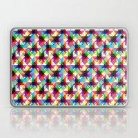 Abstract blocks pattern Laptop & iPad Skin