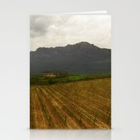 Rioja vineyards, spain, late spring Stationery Cards
