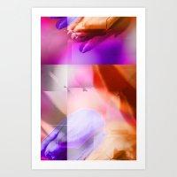Tulip Digital Design Art Print