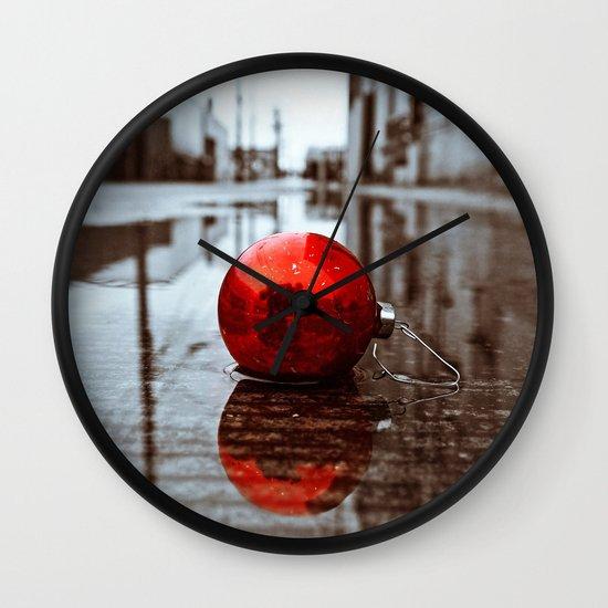 South Tacoma Christmas Wall Clock
