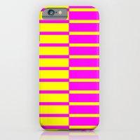 Canary Zebra Plays Piano iPhone 6 Slim Case