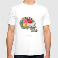 Politeness Is The Flower… Mens Fitted Tee White SMALL