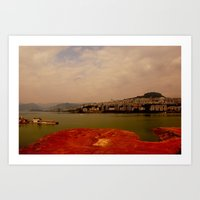 Foggy Peacefulness #2 Art Print