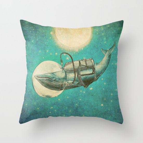 The Journey (Colour Option) Throw Pillow