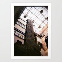 Juguetería Avenida Art Print