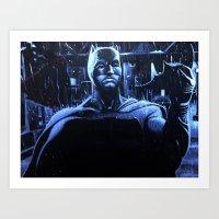 DARK VS LIGHT Art Print