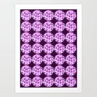 Tri Dots 3 Art Print