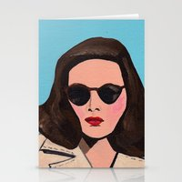 leave her to heaven Stationery Cards