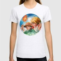 Sophie And Howl From How… Womens Fitted Tee Ash Grey SMALL