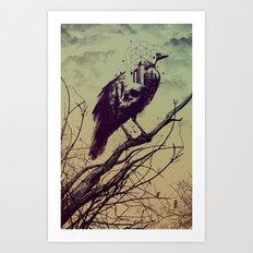 Calling of Death Art Print