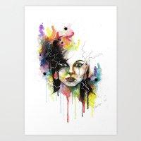 Kasey 2 Art Print