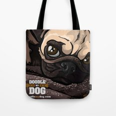 Miss Finn (Baby Pug) Tote Bag