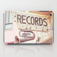 Records iPad Case