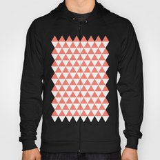 Triangles (Salmon/White) Hoody