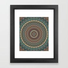 Mandala 579 Framed Art Print
