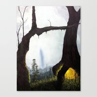 Everything Merges With T… Canvas Print