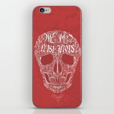 No One But Death (Shall Part Us) iPhone & iPod Skin