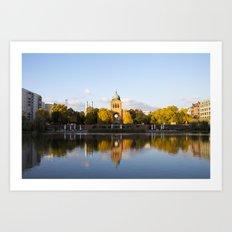 Engelbecken - Berlin Art Print