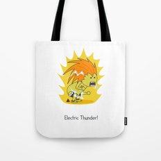 Electric Thunder! Tote Bag