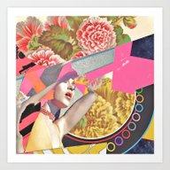 Corona Coronas Coronae Art Print