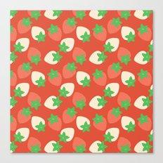 Berry Fields Canvas Print