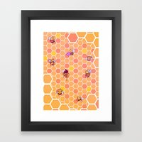 Hive Framed Art Print