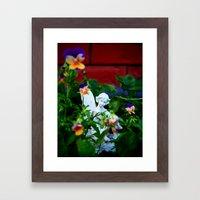 Floral Fae Framed Art Print