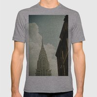 The City Of The Fighting… Mens Fitted Tee Athletic Grey SMALL
