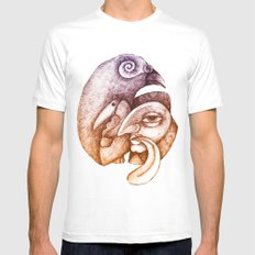 Metamorphoses Mens Fitted Tee SMALL White