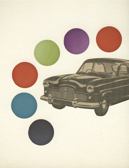 Driving Around in Circles Art Print