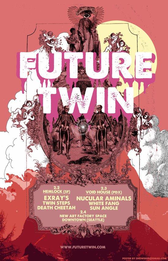 FUTURE TWIN Art Print