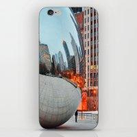 Chicago Bean - Big City Lights iPhone & iPod Skin
