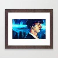 The Pool II Framed Art Print