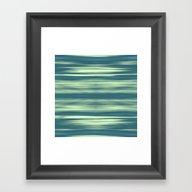 Abstraction Serenity In … Framed Art Print