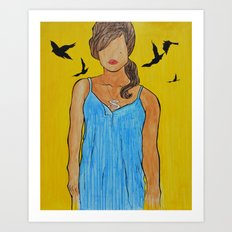 your imperfections are perfect to me... Art Print