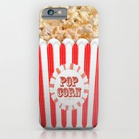 iPhone & iPod Case featuring POP CORN by Galvanise The Dog