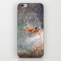 Woman hunting the zodiac iPhone & iPod Skin