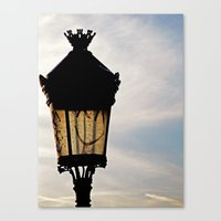 Happy Lamp Canvas Print