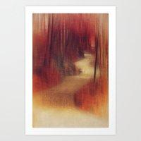 Walking to ...  Art Print