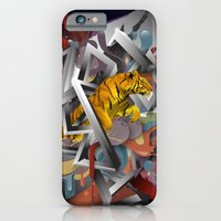 iPhone & iPod Case featuring Year of The Tiger by regeindrastudianto